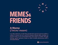 - memes & friends / 2015