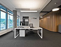 graphics for TIA office, Vilnius | a2sm architects