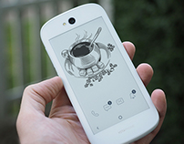 Illustrations for YotaPhone 2