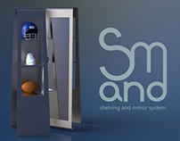 S&M | Shelving and Mirror System | 2013