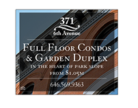 Web Banners for Brooklyn Condo Project