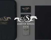 """""""LS Quarter Horses"""" Corporate Design"""