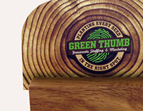 Green Thumb Agency Branding