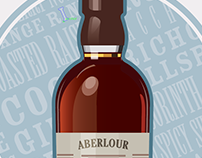 Whiskey Illustrations - Personal Series