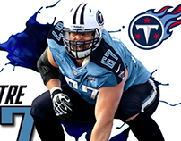 Tennessee Titans Andy Levitre art