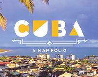 Cuba Map Folio