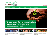 Hantz Farms website