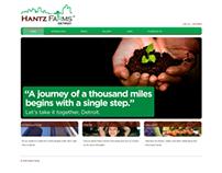 Hantz Farms website
