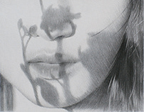 A GIRL Series - Pencil drawing