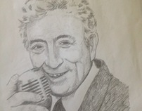Tony Bennett Value Study
