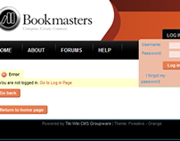 Bookmasters Internal