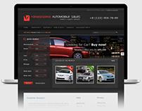 web design: AutoDealer