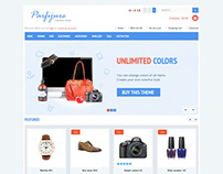 Parfijure, OpenCart Responsive E-Commerce Shopping