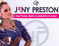 Carte De Visite Pour La Djette Jeny Preston