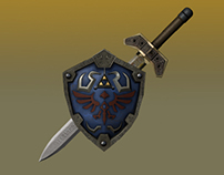 Hylian Sword and Shield