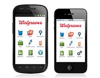 Walgreens Mobile App UI