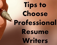 Tips To Choose Professional Resume Writers
