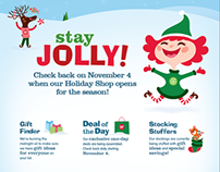 Walgreens Holiday Shop