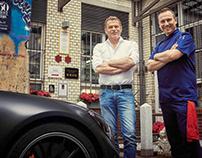 Tobias Moers & Tim Raue for 63 Magazine