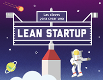 Keys to Create a Lean Start Up - Infographics
