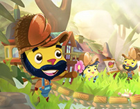Wooga Pocket Village Trailer
