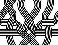 Escher-esque Kufic Kaf