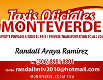 Tarjetas de Presentación para Taxista
