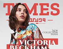 Victoria Beckham Cover Vadiye Times