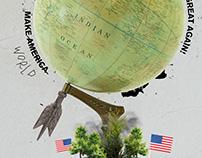 MAKE AMERICA GREAT AGAIN (Digital Collage)