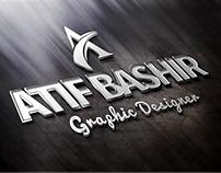 Atif Bashir 3D Logo
