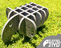 ElefantiYo - Furniture for kids with recycled plastic