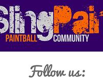 SlingPaint Branding, Social, T-Shirts & Website