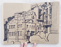 Sketches: Moscow 14-15