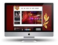 ELEVEN NIGHTCLUB WEB DESIGN