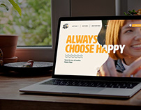Website design Project - Happy Egg