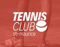 Logo Tennis Club St-Maurice, Switzerland