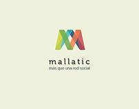 Mallatic, red social.