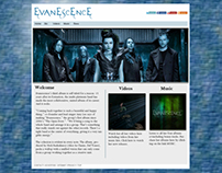 Evanescence Website