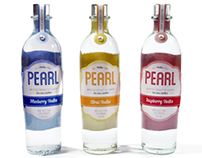 Pearl Vodka Bottle Redesign
