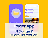 Mobile folder & storage viewer