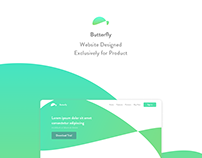 Butterfly - Product Website