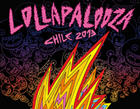 Lollapalooza Chile 2013 Official Poster