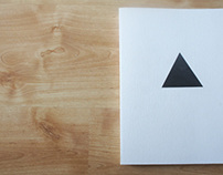 Play with triangle:visual summery book