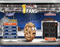Pepitos! 1 Millón de Fans Web App
