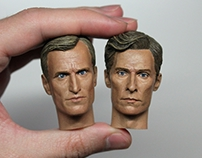 1/6 Head Sculpt Paintings (Part 2)