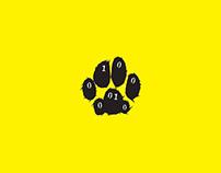 Binary Feline branding identity