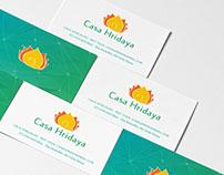 Casa Hridaya - Branding - Graphic Design