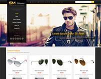 SM Glasses, Magento Responsive Glasses Shop Theme