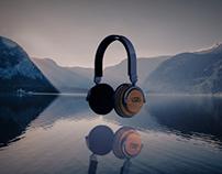 LSTN Headphones Concept