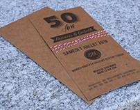 Invitation - 50 Ans